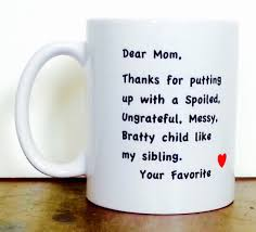 Cute Homemade Mothers Day Gifts by Personalized Mug Gifts For Mom Coffee Mug Custom Mug