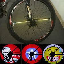 yq8003 bike light software new yq8003 diy bicycle wheel light programmable led double sided
