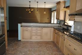 duraceramic floors baltic brown granite maple cabinets