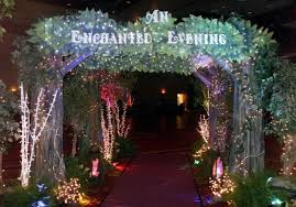 enchanted forest christmas lights nashville tn themed event decor prom decor an enchanted evening