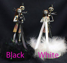 nightmare before christmas cake toppers wedding cake toppers ebay