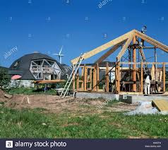 geodesic dome house building construction geodesic dome stock photos u0026 building