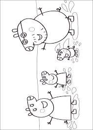 coloring peppa pig peppa pig coloring