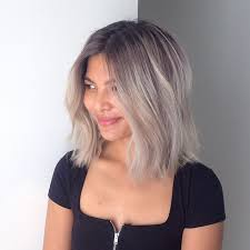ways to dye short hair this short hair ombre look is one of many ways to embrace the gray