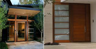 Front Door Windows Inspiration Modern Windows And Doors Cozy Inspiration Front Doors Modern