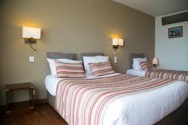 hotel avec dans la chambre en bretagne chambres familiales de l hôtel de la plage pour 3 4 ou 5