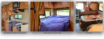 Class A Motorhome With 2 Bedrooms Rv Rent Motorhome Rental Road Bear Rv Usa Class C 23 26 U0027