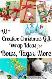 gift wrap bows creative christmas gift wrapping ideas bows tags more