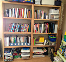 ikea hack homeschool bookshelves