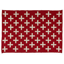 Red White Striped Rug All Rugs The Land Of Nod