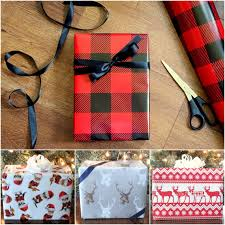 christmas plaid wrapping paper nordic sweater christmas wrapping paper background with
