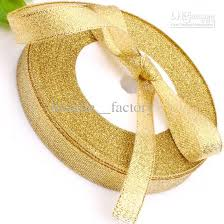gold metallic ribbon 12mm gold glitter metallic ribbon jewelry bridal decor edge gift