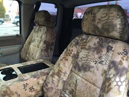 Camo Truck Seat Covers Ford F150 - kryptek highlander seat covers covers u0026 camo