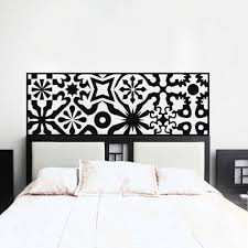 White Wall Decals For Bedroom Aliexpress Com Buy Quilted Headboard Wall Decal Vinyl Art Wall