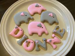 pink u0026 grey elephant cake cookies cake pops u0026 cupcakes