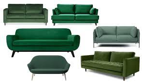 delamaison canapé design d intérieur canape velours vert canapac canapa s 28