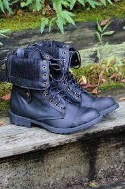 combat boots black friday stylish rivets and pure color design women u0027s combat boots combat