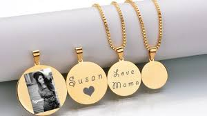 custom engraved necklace pendants personalized engraved necklace necklace