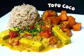 cuisiner le tofu nature curry de tofu au lait de coco cookismo recettes saines faciles