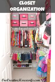 Closet Organizing One Creative Housewife Organizing My Daughter U0027s Closet