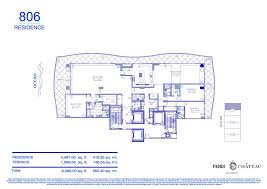 55 Harbour Square Floor Plans Fendi Chateau Residences Miami Real Estate Trends