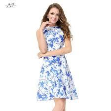 casual dress aliexpress buy women clothing dresses alisa pan ap05470wh