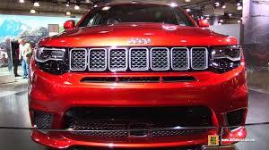 jeep j8 interior 2018 jeep grand cherokee trackhawk exterior and interior