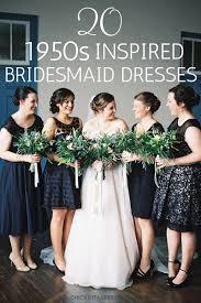 50 S Wedding Dresses 20 Beautiful 1950s Bridesmaid Dresses Chic Vintage Brides
