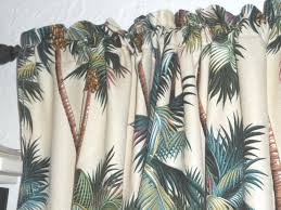 28 x27 tropical hawaiian cotton barkcloth fabric cafe u0027 curtains