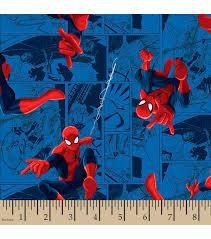 marvel u0027s spider man print fabric joann