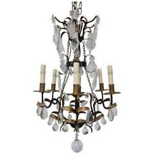Iron Chandelier With Crystals Antique Chandelier Fine Iron Chandelier With Crystal Fruit For