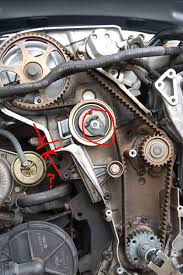 2003 audi a4 1 8t engine diy b6 a4 1 8t timing belt and water change
