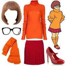 Daphne Blake Halloween Costume Velma Dinkley Costume Scooby Doo