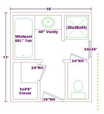 bath ideas 10x11 floor plan bath pinterest bathroom designs for