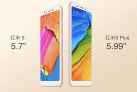 Xiaomi Redmi 5 Xiaomi S 120 Redmi 5 And 150 Redmi 5 Plus Are Now Official With