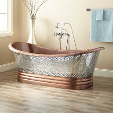 Oversized Bathtubs For Two Copper Tubs Freestanding U0026 Clawfoot Signature Hardware