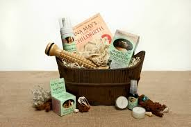 spa gift basket ideas organic spa gift basket pered pregnancy ecochicgiftbaskets