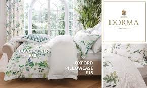 Dorma Bed Linen Discontinued - dorma botanical garden bedding collection dunelm