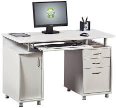 White Contemporary Desks by Stylish Computer Desks Classy Design Small Modern Computer Desk