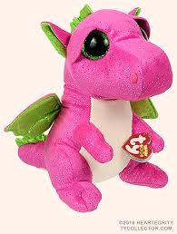 darla medium ty beanie boo dragon