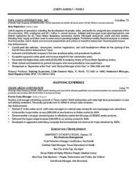 Operation Manager Resume Download Operation Manager Resume Haadyaooverbayresort Com