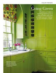 is green a kitchen color freshen up your kitchen and bath with green interiors by color