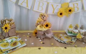 sunflower baby shower sunflower baby shower theme decorations