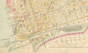 Map Of Queens File Lirr 1891 Long Island City Jpg Wikimedia Commons
