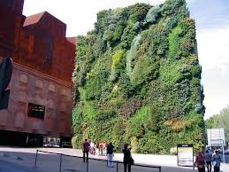 supple caixaforum gallery madrid as wells as vertical garden