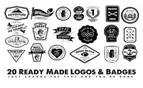 5in1 mega bundle v 6 logo badge templates u0026 shapes u2022 inspired