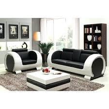 fauteuil et canapé canape cuir blanc 2 places ensemble canapac 3 places