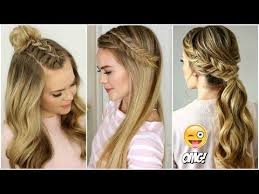 4 quick cute heatless hairstyles for hairstyles