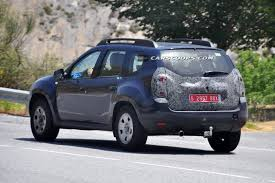 renault duster 2014 white dacia prepares a facelift treatment for duster ultimate car blog