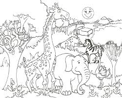 cute animals coloring pictures free coloring pages on art
